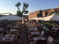 Creative Chefs for restaurants in Siena, Italy