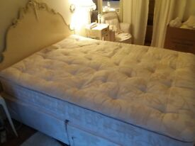 Double bed, excellent condition.