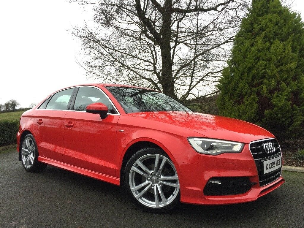 **AUDI A3 2.0TDI S LINE SALOON** 1 OWNER