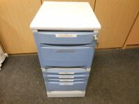 6 drawer locking office stationary storage cabinet . pens, memory cards