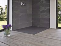 Brand New Matki Slate Effect Shower Floor