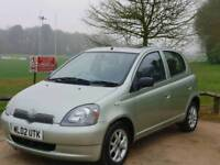 TOYOTA YARIS 1.0L AUTOMATIC 5DOOR 74900 MILES 15 SERVICES MOT TILL18/4/2019 EXCELLENT CONDITION