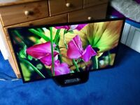 LG 42 INCH 1080P LED TV WITH FREEVIEW HD BUILT IN.