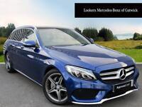 Mercedes-Benz C Class C220 D AMG LINE PREMIUM (blue) 2016-07-18