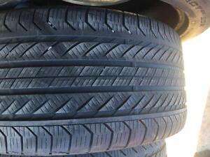 2 pneus 245/45r19 et 2 275/40r19 continental run flat