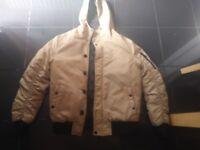 Mens siksilk coat
