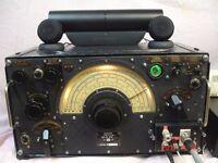 R1155 A Air Ministry RAF WW2 radio receiver restored working inc power pack & amp.