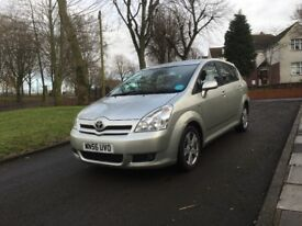 2006 (56) TOYOTA COROLLA VERSO T3 D-4D 2.2 DIESEL 7 SEATER MPV **DRIVES GOOD + LONG MOT + SPACIOUS**