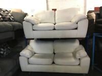 NEW / EX DISPLAY Fabric 3 Seater + 2 Seater Sofas