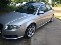 2007 (57) AUDI A4 S LINE SPECIAL EDITION 2.0 TDI NORMAL BHP 170 JUST HAD IT RE MAPPED TO 210 BHP