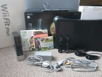Wii Fit Plus (inc. Console, Balance Board, 2 x Controller, Wii Sports, Just Dance 2 and Driver)