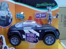 20 Zootropolis Judy's Police Cruiser Deluxe Vehicle Bulk listing 20 items A1 liquidated stock