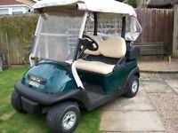 clubcar golf buggy