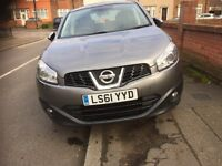 2011, 7 Seaters Nissan Qashqai+2, Manual gearbox with alloy wheels in Immaculate conditions for sale