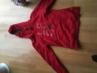 Official LFC hoody size 14