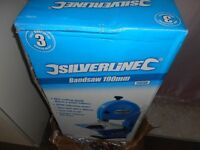 silverline bandsaw 190mm new but spares/repair