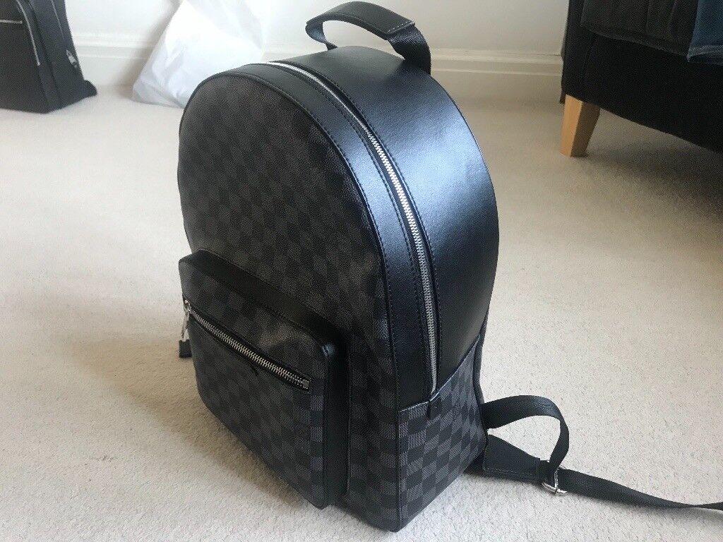 26d479c7f283 New Louis Vuitton Josh Backpack   Rucksack   Bag Damier Graphite ...