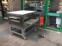 """COMMERCIAL CATERING 21"""" NEW GAS PIZZA CONVEYOR BELT OVEN FAST FOOD RESTAURANT KITCHEN TAKE AWAY SHOP"""