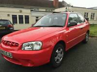 Hyundai accent 1.3 petrol only 60000 miles 10 months mot