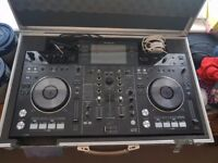 pioneer xdj rx plus flight case. as new condition.