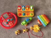 Bundle of Toddler Toys - £18