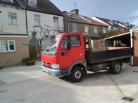 nissan cabstar 2.7 turbo di tipper