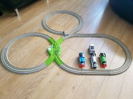 Thomas trackmaster with trains