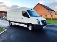 VW CRAFTER CR35TDI 2.5diesel COMES WITH 6 MONTHS WARRANTY AND FULL HISTORY SERVICE