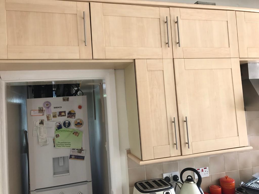 kitchen cupboard doors maple shaker b q in albany road
