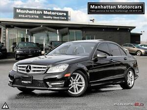 2013 MERCEDES BENZ C300 4MATIC |BLUETOOTH|1OWNER|LEATHER|SUNROOF