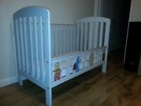 Toddler bed with mattress and cover In The Night Garden