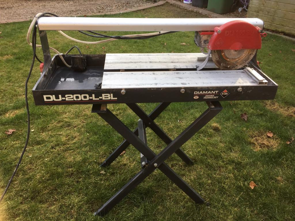 Rubi Du 200 Wet Tile Cutter And Stand
