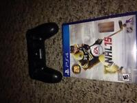 Ps4 remote and nhl 15