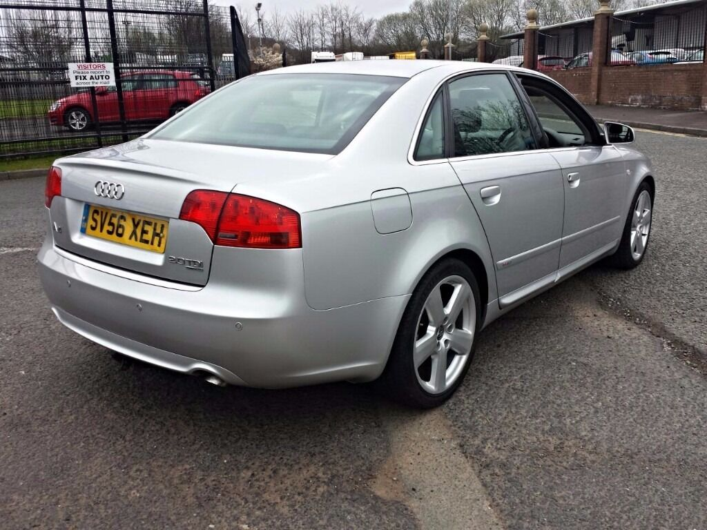 2006 audi a4 quattro 2 0 tdi s line 210 bhp stage 1 remap. Black Bedroom Furniture Sets. Home Design Ideas