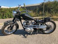 Triumph chopper/bobber/chop project t90