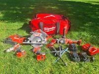 Milwaukee power hand tool sets