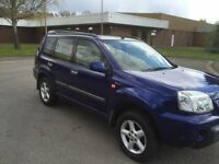 2002 NISSAN X TRAIL 2.2 DCI Sport tow bar ALLOYS AIR CON CD 12 MONTHS MOT 3 MONTHS WARRANTY