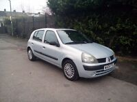 Renault Clio Full Automatic Very Nice Clean And Tidy Car Long Mot Brilliant Drives Cheap To Run