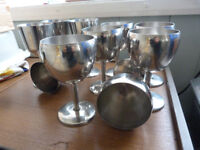 Stainless Steel Goblets