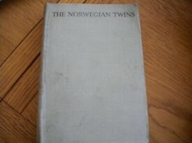 THE NORWEGIAN TWINS By LUCY FITCH PERKINS BOOK VINTAGE