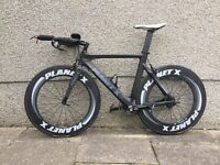 Planet X Stealth Time Trial Bike - LARGE