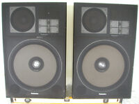 *CLASSIC* TECHNICS MODEL SB-G900 4 WAY SPEAKER SYSTEM 8-OHM 300-W (THIS IS FOR TWO-SPEAKERS)