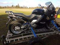 For sale is my BMW K1200RS in beautiful cosmetic condition despite tge hight mileage