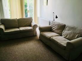 Two 2 seater sofas (gone)
