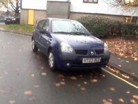 2003 Clio 1.2 Low mileage 5 doors £650