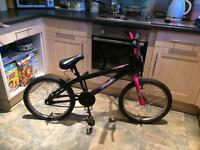 BMX girls bike