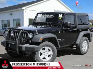 2014 Jeep Wrangler Sport 6-SPEED | ALLOYS | BLUETOOTH