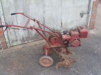 Wolseley merry tiller rotovator rotavator cultivator with double slash tines