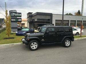 2012 Jeep WRANGLER UNLIMITED Sahara *** FINANCEMENT 100% APPROUV