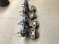 Car bench jig sill clamps